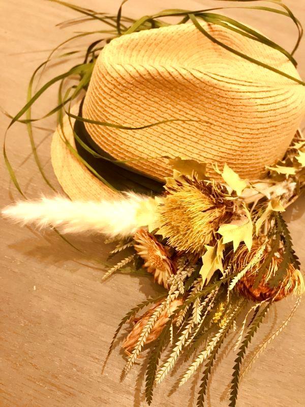 植物の帽子